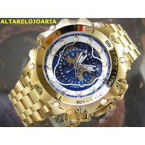 I N V I C T A Relógio Invicta Venom Cronógrafo Plaque Ouro