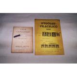 Catalogos De Sellos De Uruguay..1968.1971-1988..
