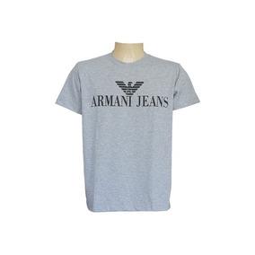 Camisa Armani Exchange Cinza
