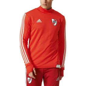 Buzo adidas Futbol River Plate E Hombre Rj/gr