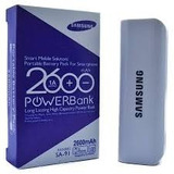 Cargador Portatil Power Bank Samsung 2600 Mah