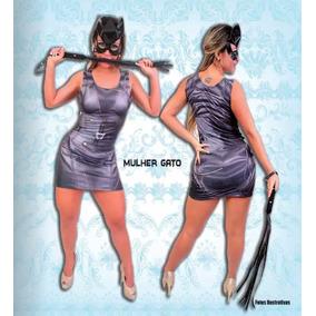 Fantasia Vestido Mulher Gato Adulto