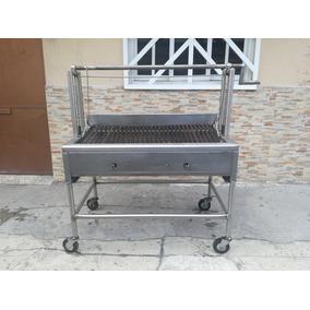 Parrilla Plancha Asador Estufa Refrigerador En Acero Inoxida