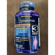 Condroitina + Glucosamina  Msm 240 Caps - Puritans Pride