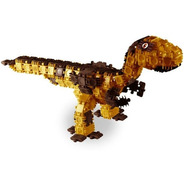 Clic & Lig Dinossauros T-rex Para Montar - Plasbrink