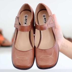 Sapato Salto Grosso Quadrado Boneca Estilo Retrô Vintage616