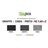 Carpete Forracao Preto Cinza Grafite Escritório Casa R$ 7,60