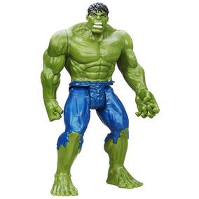 Boneco Brinquedo Vingadores Hulk 30 Cm Articulado Luz E Som