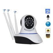 Câmera Ip Wifi Hd 1080p P2p 3 Antenas Auto Tracking Yoosse