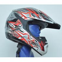 Casco Croos Para Motocicleta Certificacion Dot Ece