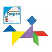 Tangram En Cd 1 Juego Material Didactico
