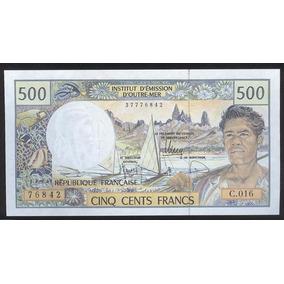 Territorios Franceses Del Pacifico #1b 500 Francos (1996)