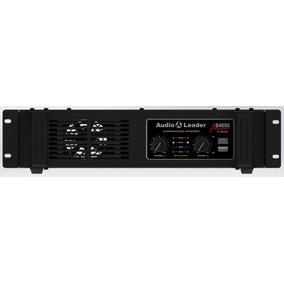 Potencia Amplificador Áudio Leader Als 4000 Watts Rms 4 Ohms