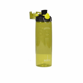 Botella De Agua Tapa Antifuga Boquilla Escudo One Click Saba