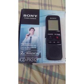 Grabador Tipo Periodismo Sony 2gb