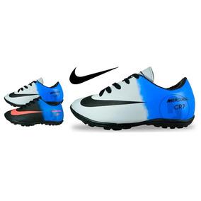 Nova Chuteira Nike Bravata Society Menino Menina Na Caixa