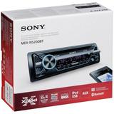 Auto Estéreo Sony Mex-n5200bt Bluetooth Multicolor Usb Aux