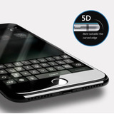 Protector De Vidrio 5d Iphone 6,7,8 ,s,x, Plus