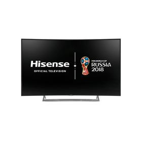 Smart Tv Hisense 55 4k Curvo - Hle5515rtcui