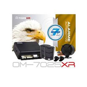 Alarme Omega 7 7025 C/2controles + Sirene(completo) Promoção