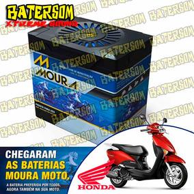 Bateria Moura Moto 6ah Honda Lead 110cc