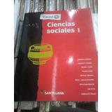 Ciencias Sociales 1 Conocer + Santillana