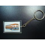 Chaveiro Antigo Acrílico Automotivo Empresa Ônibus Anos 70