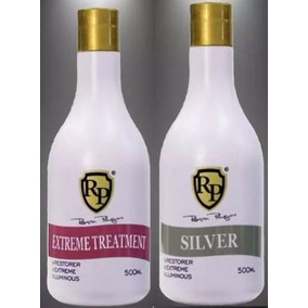 Robson Peluquero Matizador Silver +extreme Treatment Kit 2x1