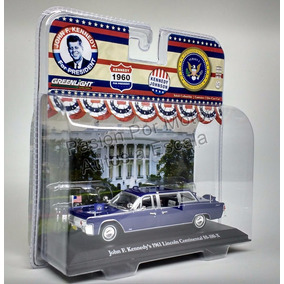 1:43 Lincoln Continental Limosina Johnn F Kennedy Greenlight