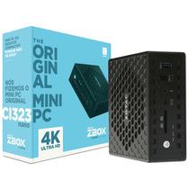 Mini Computador Intel Quad Core 4gb Ubuntu Ci323 Nano Zotac