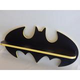 Prateleira Batman Em Mdf E Revestida Em Fórmica 70 X 30