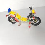 Juguete Armable Rompecabezas Tipo Mecano Motocicleta 154 Pz