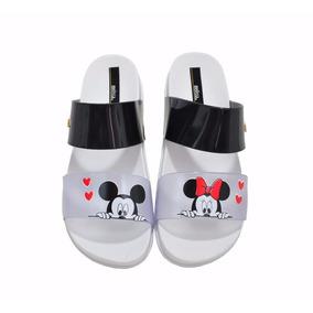 Melissa Cosmic Sandália Chinelo Feminino Estampada Mickey