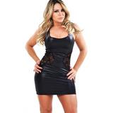Vestido Spandex E Renda Cleo Cadilac Com Fio Lycra®