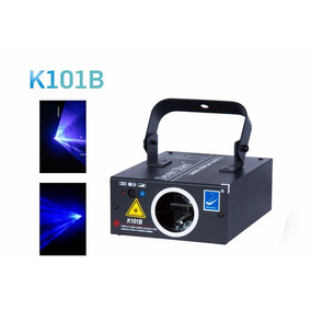 Big Dipper K101-b Láser Azul 120mw Audioritmico Dmx Figuras