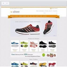 Site Script Loja Virtual Profissional Responsivo Facil Admin