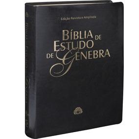 Biblia De Estudo De Genebra - Luxo - Preta