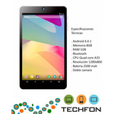 Tablet Android Overtech 7