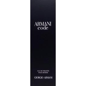 Perfume Armani Code Masculino Edt 125ml Original