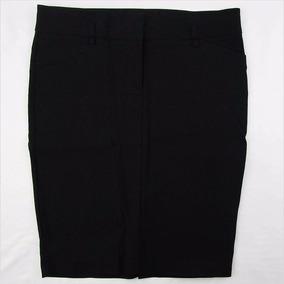 Espectacular Falda Negra A Rayas Dama Have & Have Talla L