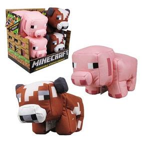 Minecraft Animais 2 Em 1 Vaca/carne