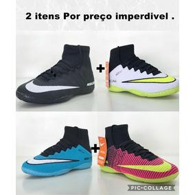 f7977582a9568 Tenis Futsal Com Tornozeleira Nike Rosa - Tênis Masculinos no ...