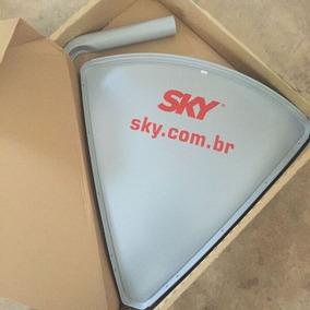 Antena Sky 1,50m Original Sky Hdtv Frete Grátis Homologada