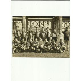 Foto Botafogo Excursão Ao Exterior Em 1941 Tamanho 0,15x0,20