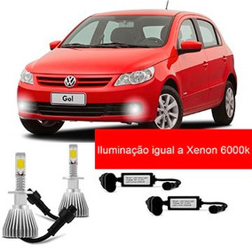 Kit Super Led Hb4 Farol De Milha Do Gol G5 Saveiro Voyage G5