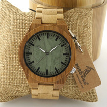 Reloj De Madera Bobo Bird 100% Original A Precio De Remate