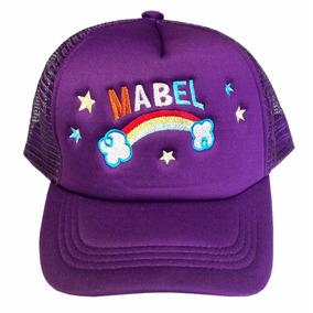 Gorra Truker Diseño Mabel, Dipper, Bordada, Gravity Falls