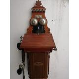 Telefono Antiguo Hermoso Principio De1900