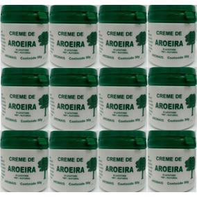 Creme De Aroeira -pomada De Aroeira -kit Com 12 Potes+brinde