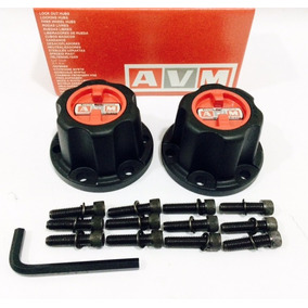 Roda Livre Avm Premium Jeep Willys F75 - Com Kit Parafusos